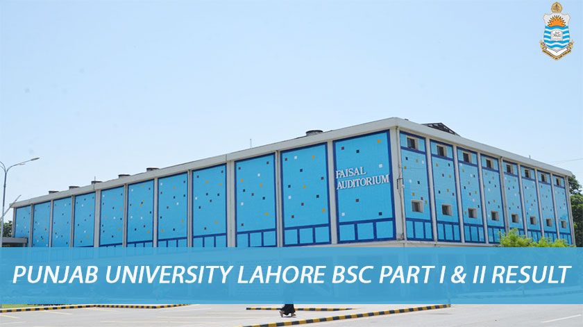 pu bsc part 1 & 2 result